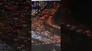 abcnews bumper to bumper traffic in los angeles travel