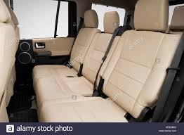 land rover lr3 black 2006 land rover lr3 v6 in black rear seats stock photo royalty