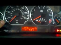 bmw e46 service engine soon light procedure on how to reset service indicator for or