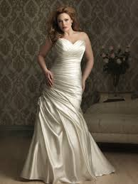 Marriage Dress For Bride Allure Bridals Style W284