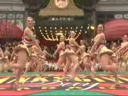 the rockettes perform at macy s thanksgiving day parade 2010