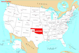 map of usa map of oklahoma state map of usa