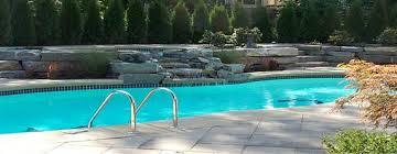 new great lakes in ground fiberglass pool by san juan san juan pools of michigan in white lake san juan pools san