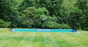 Batting Cage For Backyard by Home Batting Cages Backyard Batting Cages Sport Court Mid Atlantic