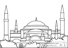 hagia sophia coloring page coloring pages ideas