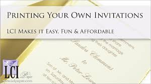 how to print your own wedding invitations print your own wedding invitations print your own wedding