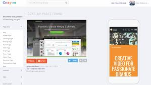 Search Designs by Crayon Design Search Engine Goes Mobile To Generate Inspiration
