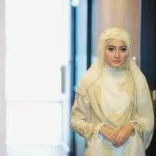 tutorial hijab syar i untuk pernikahan cantik berhijab syar i dress kebaya pernikahan syar i pinterest