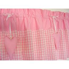 kinderzimmer gardinen rosa bistro gardine kinder landhaus rosa