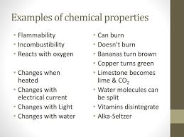 ppt ch 3 sec 2 chemical properties and changes powerpoint