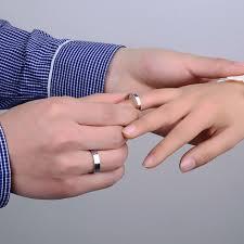 5mm ring men ladie s rings 5mm 3 5mm flat shiny laser engrave forever
