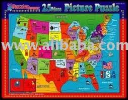 usa map jigsaw puzzle 25 pieces usa map jigsaw puzzle wholesale price buy 25
