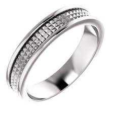 pyramid wedding band platinum geometric pyramid wedding band size 11 stuller