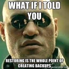 Webinar Meme - best backup recovery memes spiceworks