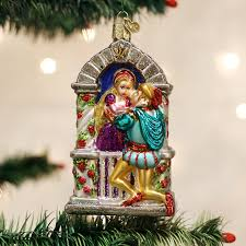 romeo and juliet old world christmas ornament