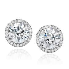 diamond stud forevermark center of my universe diamond stud earrings visit