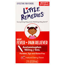 Little Berry Little Fevers By Little Remedies Berry Infant Fever U0026 Pain
