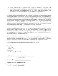 employment job offer letter