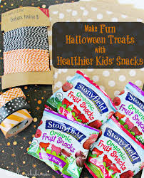 hillary chybinski make fun halloween treats with healthier kids