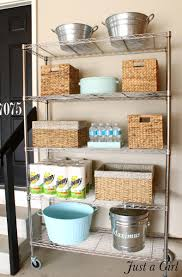 Baskets For Bookshelves Put A Pantry In Your Garage I Actually Really Just Like The