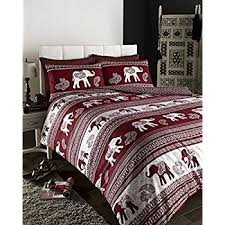Indian Duvet Covers Uk Ethnic Indian Print Bedding Quilt Cover Bed Set With Pillow