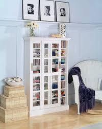 Media Cabinet Glass Doors Blvd Glass Paneled 6 Shelf Oak Media Cabinet Free