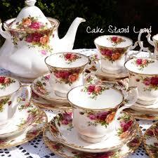 vintage tea set tea set country roses vintage set for six mine