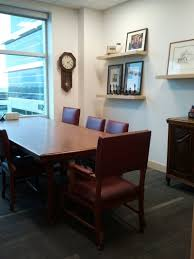 Antique Boardroom Table Langley Law Firm Exhibits Antique Items From Fort Langley Office