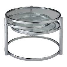 Glass And Chrome Coffee Table Chrome Glass Coffee Tables Houzz