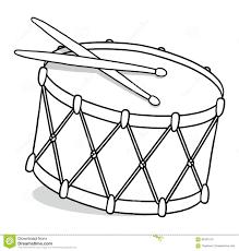 drum outline illustration stock illustration image 68181510