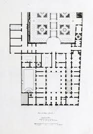 floor plan of the palazzo spada rome floor plans castles