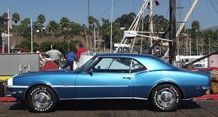 blue 68 camaro 1967 1969 camaro factory paint
