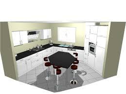 ilot central cuisine pour manger beau dimension ilot central cuisine 7 cuisine avec ilot central