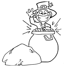 pot of gold coloring pages getcoloringpages com