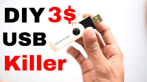 how to make a usb killer in 3 youtube