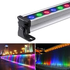 Led Light Bar Color Changing by 72w Dimmable Rgb Led Wall Washer Waterproof Ip65 And 30 Beam Angle