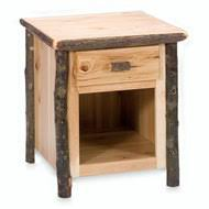 log nightstands