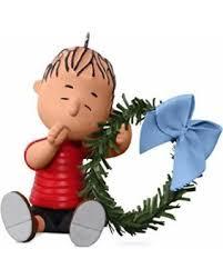 deal alert hallmark peanuts linus with wreath keepsake
