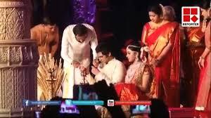 ravi pillai u0027s daughter marriage video youtube