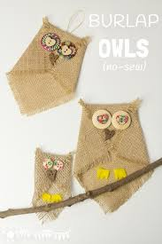 25 unique burlap owl ideas on wreath supplies fall