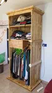 Wardrobe Ideas by Wood Pallet Wardrobe Ideas Pallet Wood Projects