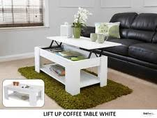 Flip Up Coffee Table Modern Lift Up Easy Storage Coffee Wooden Espresso Table With