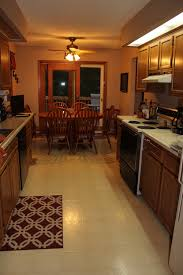 Galley Kitchens With Island - incorporating an island into a galley kitchen