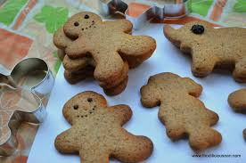 decorated gingerbread men cookies with eggless royal icing