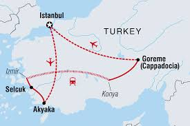 Turkey Blank Map by Turkey Real Food Adventure Turkey Tours Intrepid Travel Us