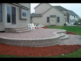 backyard raised garden patio design ideas youtube