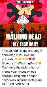 Walking Dead Valentines Day Meme - 25 best memes about negan walking dead negan walking dead memes