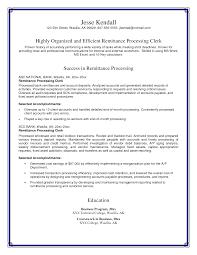 Accounting Clerk Resume Sample by Clerk Resume Resume Cv Cover Letter