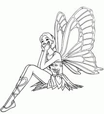 free fairy coloring pages to inspire in coloring image cool