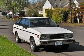 nissan datsun 510 old parked cars 1981 datsun 510